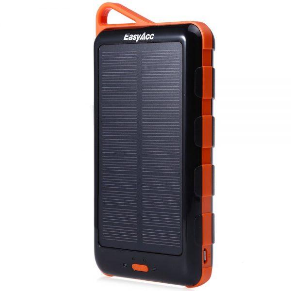 EasyAcc 15000mAh saules baterija